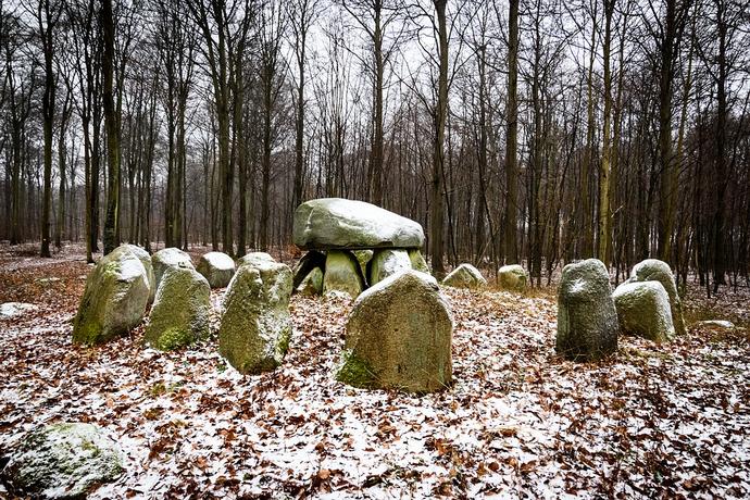 prehistorische begraafplaats
