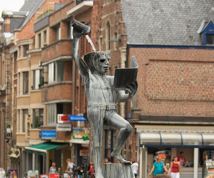 Fonske standbeeld Leuven